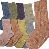 【赤ちゃんの靴下】日本製☆杢ルーズソックス <赤すぐ掲載商品>