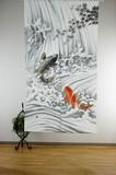 【和風のれん】★浮世絵のれん★鯉の滝登り♪日本の伝統美をご提案!!!