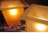 【間接照明(テーブルライト)にもお勧め】アロマランプ♪♪ ●クリア・アンバー