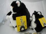 デブ猫ヌイグルミ黒猫こてつと三毛のこばん こすずを追加