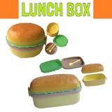 ハンバーガーランチボックス * バーガー型のかわいいお弁当箱♪