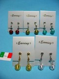 Italy Genuine Glass Handmade Earring Italia Venetian Glass