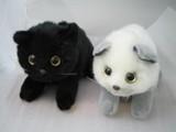 吉徳の猫のヌイグルミ 日本製 モカ ココア追加