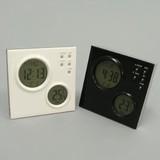 【湿度、タイマー、温度など多機能です】プロジェクターアラームクロック 置時計