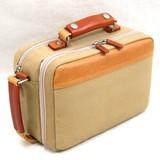 本革付属 織人ハンプ手付セカンドバッグ 鞄の聖地兵庫県豊岡市製 日本製