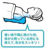 寝苦しい夜に最適 ひんやり冷却シート ECCOクールピロー
