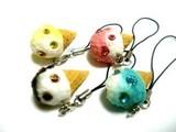 アイスクリーム■美味しいシリーズ■ストラップ、リアルさ満点!!
