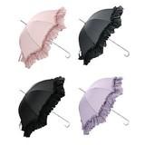 新色入荷!!可愛い!プリンセス☆フリルの雨傘
