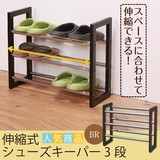 Life Expansion Shoes Keeper 3 Steps Shoes Rack Shoe Storage Iron Light-Weight Entrance