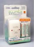 代引き払いのみ【特価商材】エネループタイプの新世代充電池 「エコプライド」充電器セット