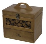 【木製コスメティックボックス】 【クローバーシリーズ】