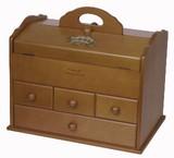 【(日本製)木製ソーイングボックス】 【スウィートマリッジシリーズ】