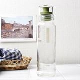 振れる・作れる・注げる・保存できる ドレッシングボトルスリム 240ml グリーン