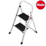【直送可】Hailo(ハイロ) K20 2段 折りたたみ脚立(きゃたつ)