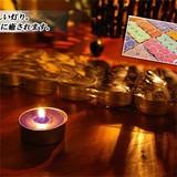 手軽に楽しむ癒しの香り&キャンドルライト【お徳用アロマキャンドル】アジアン雑貨