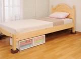 【ベッド下の収納力をアップ!】 ベッドの高さをあげる足