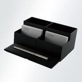 【デスクトップアクセサリー】<秋田道夫デザイン>組み合わせ自在なボックス&トレイ ◆ INTED