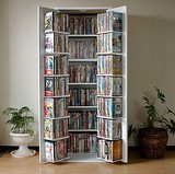 本棚 低ホルムアルデヒド・日本製 DVDラック CD・コミック本棚ストッカー収納庫