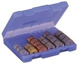 硬貨の金種を分けられ持ち運びに便利なキャッシュケース