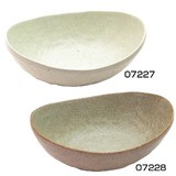 ■美濃焼陶器単品 ■風趣 白釉カレー皿・灰釉カレー皿