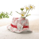 ■特価品 ■インテリア 帽子型花瓶M114