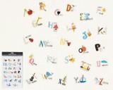 ウォールステッカー (SS) アルファベット (インテリアシール/壁紙/模様替え)☆Wall Sticker☆