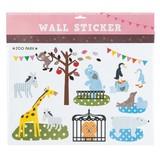 ウォールステッカー (SS) ズーパーク (インテリアシール/壁紙/模様替え)☆Wall Sticker☆