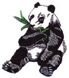 ■ワッペン■パンダ 笹