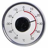 【外の温度がわかる窓用温度計】Window Thermo