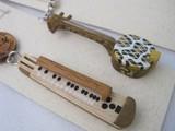 手作り楽器ST 大正琴と蛇味線 バンジョウ マリンバ スネアドラム