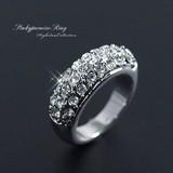 ☆素敵な願いが叶いますように!☆小指の指輪/きらめくゴージャスパヴェ☆ピンキーリング!SL-1125