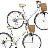 【◆送料無料!折りたたみ自転車】WACHSEN BC-626 シティサイクル 26インチ【代引き不可】