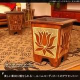 美しい彫刻に魅せられる・・。【バリ島カービングデザインダストBOX】アジアン雑貨
