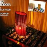 【雑貨SALE】自然素材の魅力溢れるランプ。【バリ島ナチュラルランプ】
