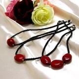 塗り(ち赤)ヘッドネックレス【ネックレス】