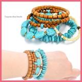 Bracelet Ethnic 6 Pcs Set Bracelet