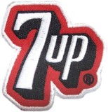 【SALE!7-UP★セブンアップ・パッチ/ワッペン】7-UP PATCH A