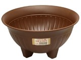 【ガーデニング必須!植木鉢】フラワー寄鉢 チョコブラウン