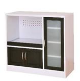 【送料無料】Cafetira(カフェティラ)食器棚(ロータイプ/90cm幅)