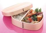 【ナチュラルキッチン】 <杉・ワッパ弁当> めんず <ちょっと大きめな弁当箱>