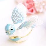 【戦プラ!】 宝石箱(動物) ジュエリーボックス 【 幸せの鳥 】