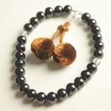 【メンズ用】黒檀の念珠(ネンジュ):R251ブラック