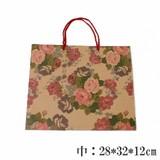 【4/14再入荷】店頭で大人気!キュートなバラ柄紙袋
