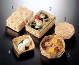【容器・パッケージ】【キッチン】 竹皮弁当箱 【蓋付(小/大)/八角箱蓋付(小/大)】