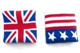 世界の国旗 アメリカ・イギリス・イギリスBK リストバンド 3種