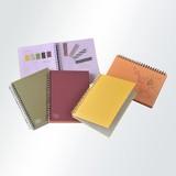 【ツインリングノート】<柴田文江デザイン>紙とリングのカラーリングが美しいフリータイプ
