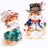 【戦プラ!】 ウサギ婦人 宝石箱(動物) ジュエリーボックス
