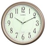夜間秒針停止機能で音が気にならない電波時計「エコテラス」