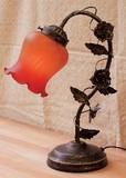 【5月21日から31日まで限定分引きセール!】【ローズアームランプ・1灯タイプ】オレンジ
