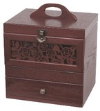 【木製コスメティックボックス】 【アンジェラシリーズ】